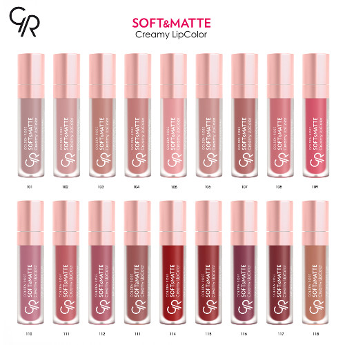 Golden Rose Soft Matte Creamy Lipstick Lip Cream Longstay Liquid